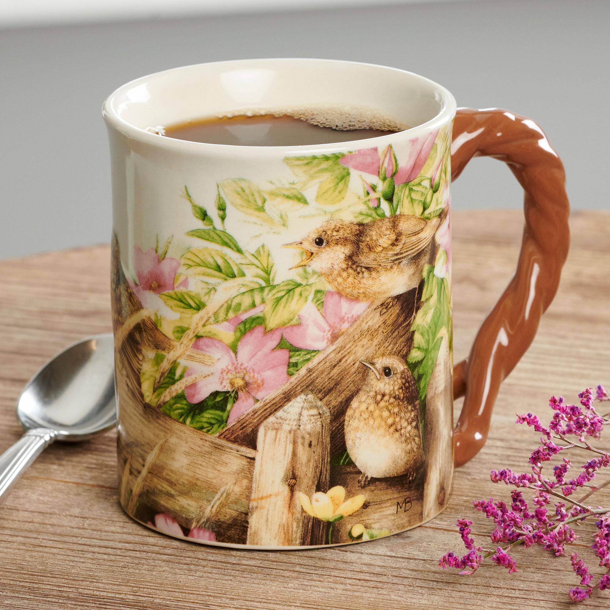Barrier Bay Collectors Mug - Breakfast Time Wrens